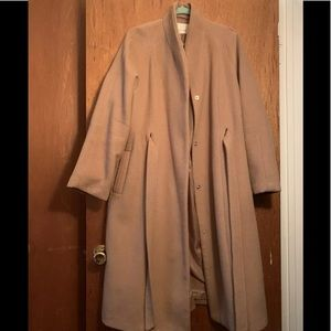 LOST INK ASOS long camel coat XXL $498